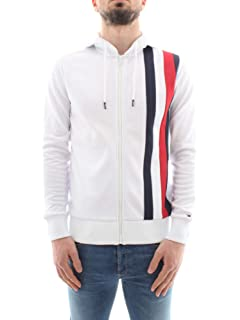 425af76e2f70e7 Tommy Hilfiger Men's Pullover Hoodie, White, Medium: Amazon.co.uk ...