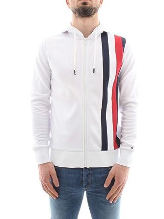 Tommy Hilfiger Herren Sportliche Tech Zip Jacke, Weiß  Amazon.de  Bekleidung bff18a5419