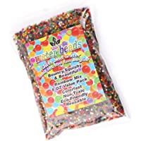 AINOLWAY Water Beads Rainbow Mix 8 oz (20,000 Beads) Jelly Crystal Balls for Kids Tactile Toy and Planting Flowers Décor ( Almost 20,000 Beads)