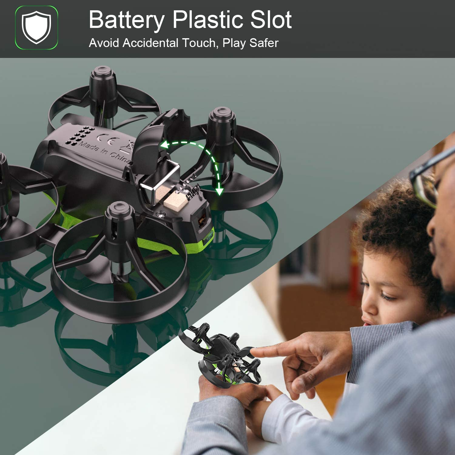 Potensic Mini Drone A20 is easy to fly rc nano quadcopter drone as per my review