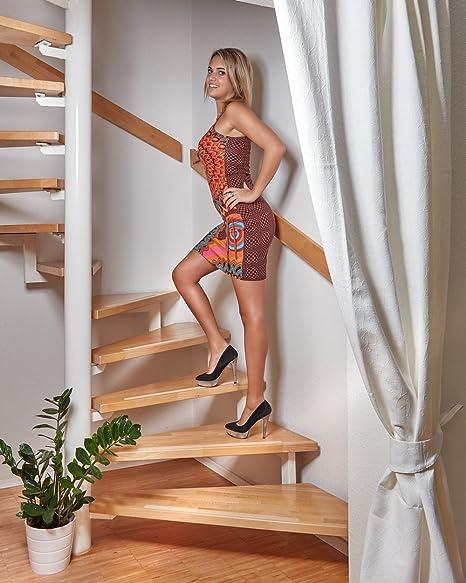 foto-kontor Tiras Antideslizantes para escaleras y peldaños de Color Transparente Blanco 18 Tiras Antideslizantes para Escalar: Amazon.es: Electrónica