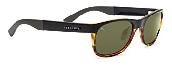 Serengeti Eyewear Sonnenbrille Piero, Shiny Bubble Tortoise, S/M, 7635
