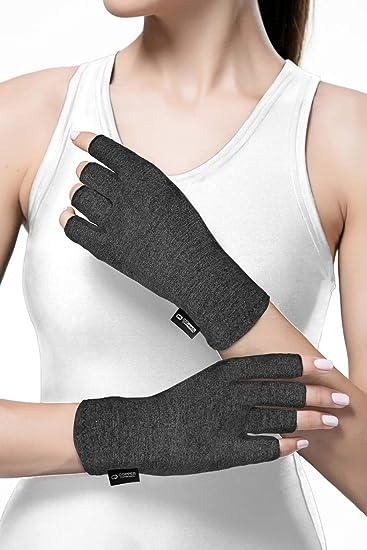 Amazon.com: Guantes de compresión para artritis de cobre ...