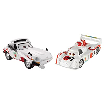 Disney Pixar Cars Collector Diecast Shu Todoroki and Mach Matsu, 2-Pack: Toys & Games
