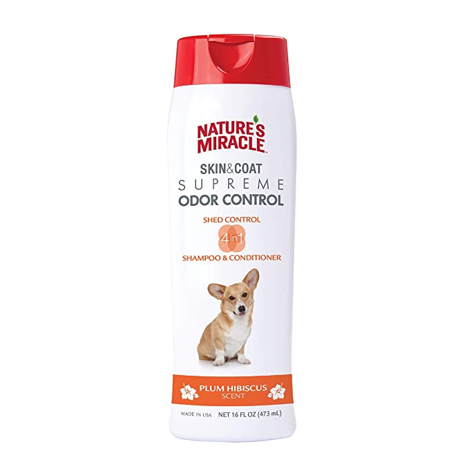 Natures Miracle Supreme Odor and Shed Control Shampoo