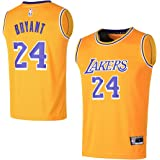 a680fe5364e Outerstuff Youth Los Angeles Lakers  24 Kobe Bryant Kids Basketball Jersey