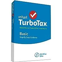 Intuit TurboTax Basic 2015 Federal + Fed Efile Tax Preparation Software - PC/Mac Disc