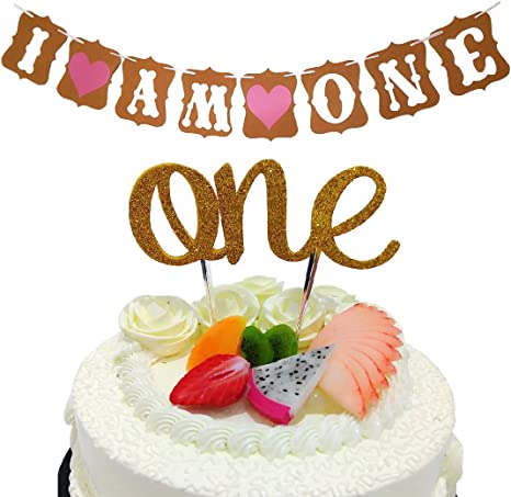 Surprising Girls First Birthday Cake Topper 1St Birthday Cake Bunting 1St Funny Birthday Cards Online Sheoxdamsfinfo