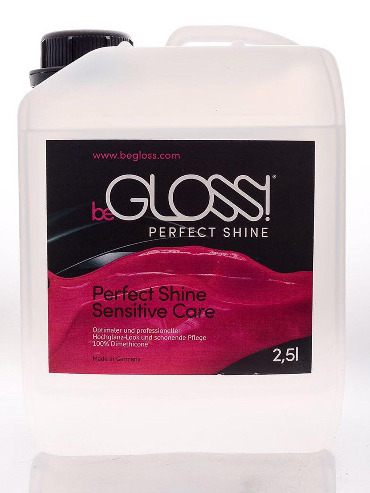 beGLOSS Perfect Shine 2500ml Latex Shiner - For Latex Clothing by beGloss