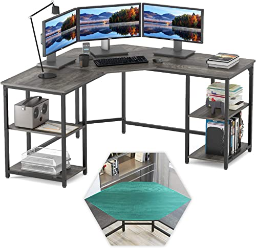 Elephance Large L-Shaped Computer Desk