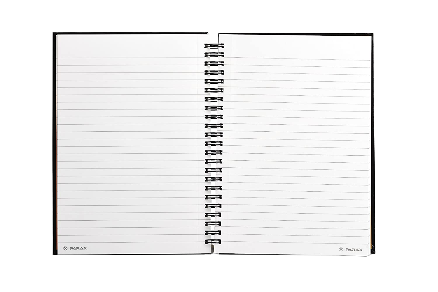 Parax paper a5 148 x 210mm spiral notebook black gloss black parax paper a5 148 x 210mm spiral notebook black gloss black amazon office products pronofoot35fo Image collections