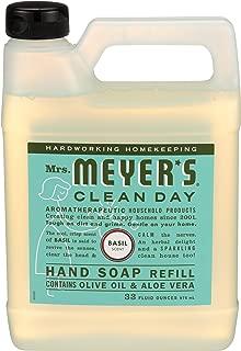 product image for Mrs. Meyer'S Hand Soap Liq Refl Basil 33 Fz