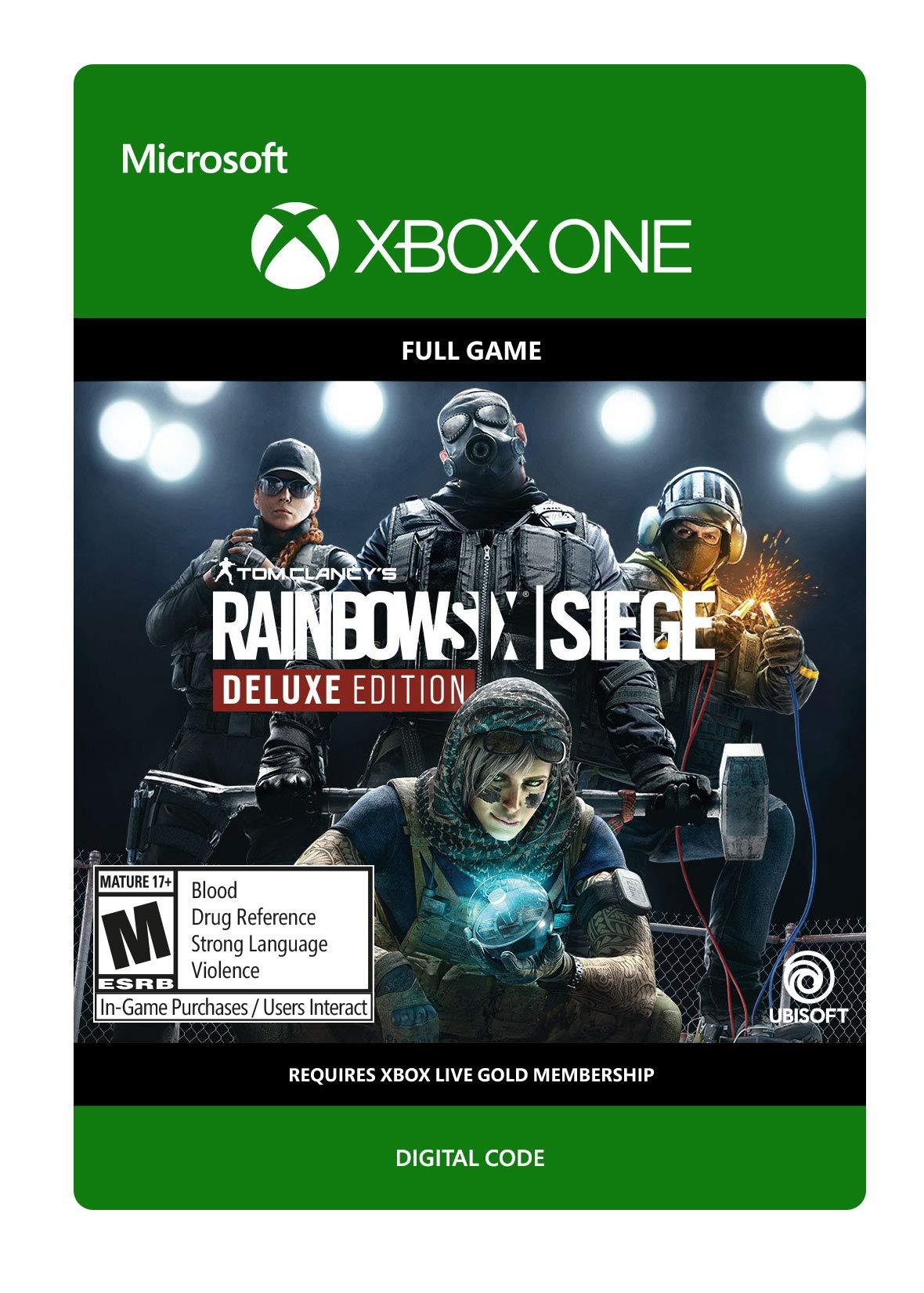 Tom Clancy's Rainbow Six Siege Deluxe Edition - Xbox One [Digital Code]
