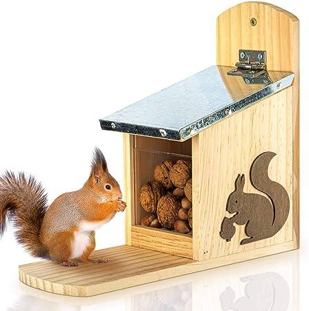 Eichhörnchen Futterhaus WA 28 Futterstation Futterautomat