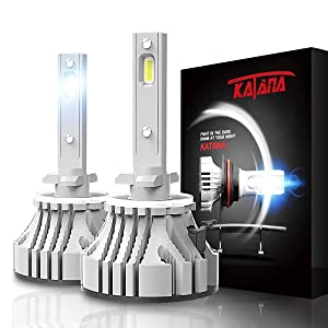 KATANA 881 LED Headlight Bulbs CREE Chips 12000Lm 6500K Cool White ATV UTV Snowmobile Arctic Cat Polaris Sportsman Ranger 400 500 600 700 800 4X4