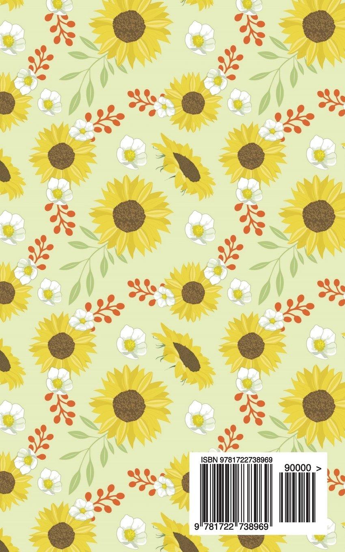 2020-2021 Planner Sunflowers: Small Academic 2020-21 Agenda ...