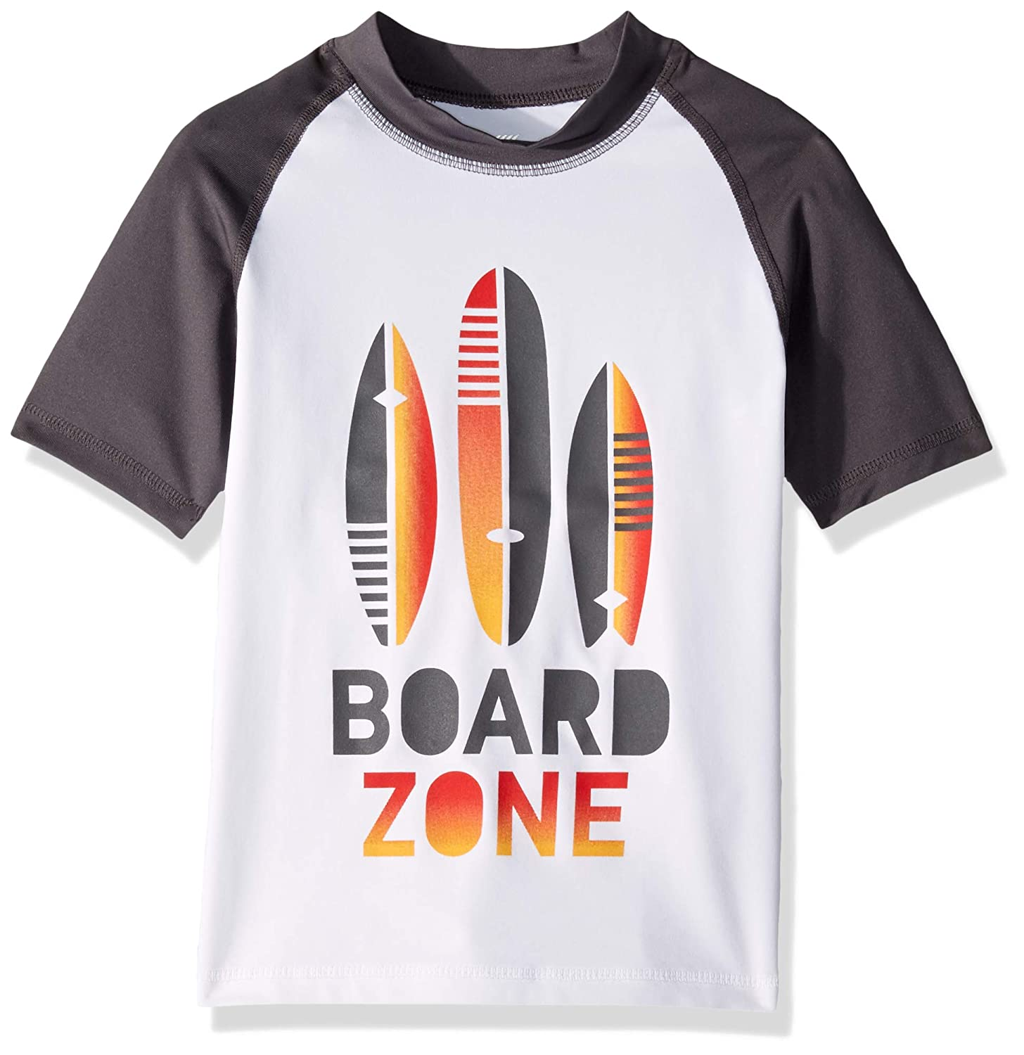 The Childrens Place Big Boys Short Sleeve Rashguard