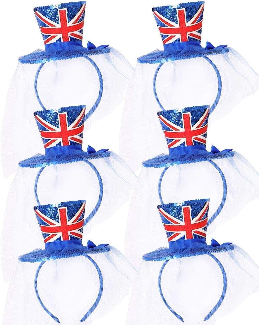 I LOVE FANCY DRESS LTD Accesorio DE Disfraz Mini Sombrero Azul con ...