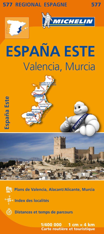Carte Unesco Espagne.Amazon Fr Carte Espagne Est Michelin Collectif Michelin
