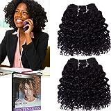"Emmet 2 pezzi/confezione, 100 g, Wave 20,32 cm (8"") Brazilian Kinky Curly capelli"