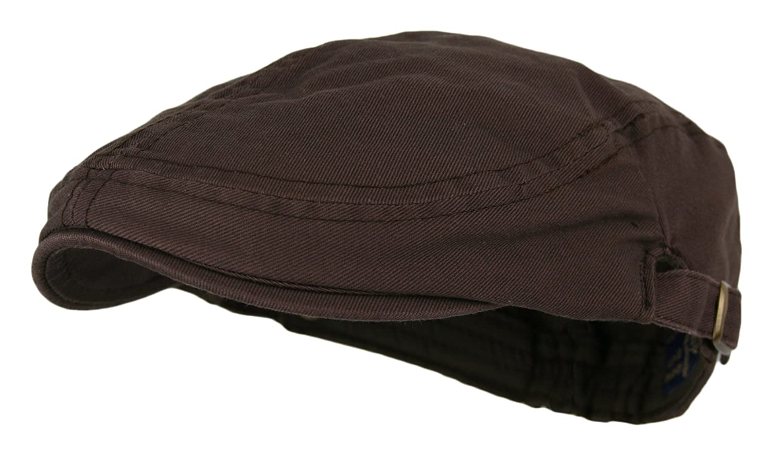 Wonderful Fashion Men's Cotton Flat Cap IVY Gatsby newsboy Hunting Hat Beige One Size