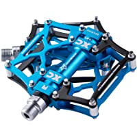 Lightweight Mountain Bike Platform Pedals Flat Sealed Bearing Bicycle Pedal 9//16