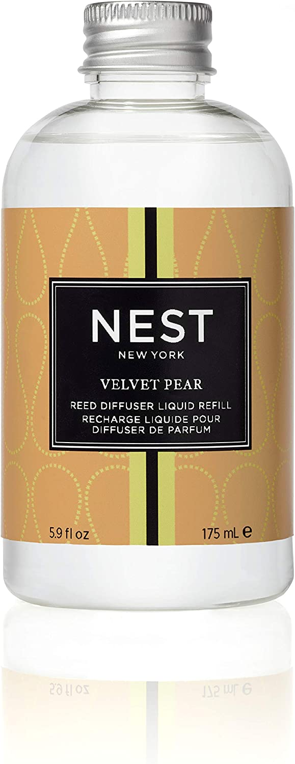 NEST Fragrances Reed Diffuser Refill, Velvet Pear