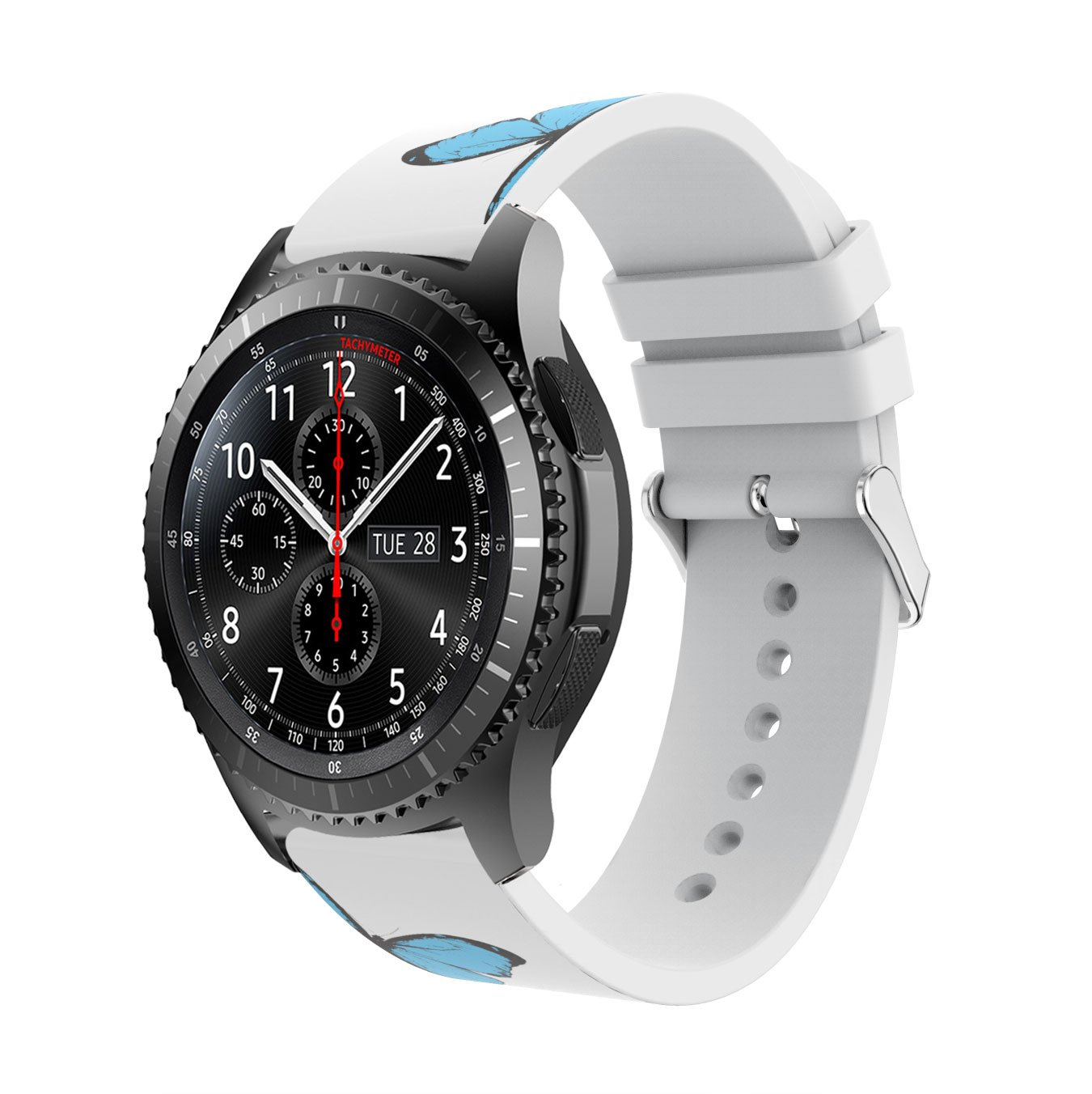 Amazon.com: Samsung Gear S3 Band Reakle Silicone Smart Watch ...