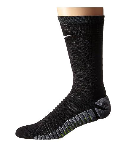 Nike Strike Tiempo Crew Calcetines de Fútbol Uni 1 Par, Hombre, Negro/Antracita