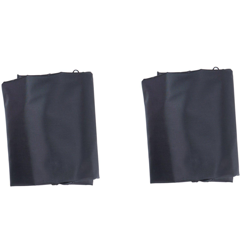 Topnaca suave bicycletravel casos bolsa de transporte de almacenamiento al aire libre (Black (Pack of 2)): Amazon.es: Deportes y aire libre