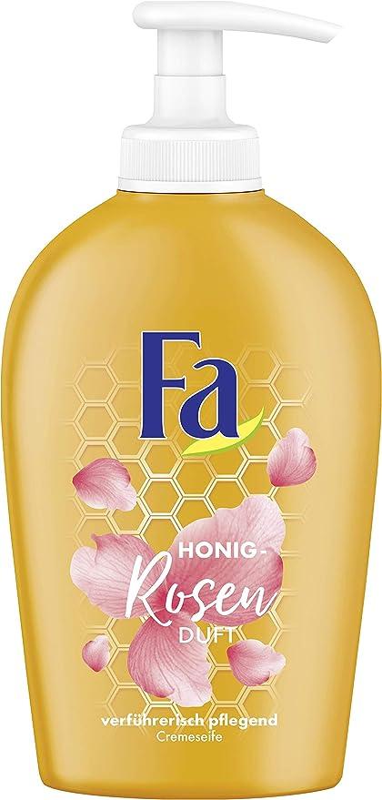 FA Jabón líquido con extracto de miel y rosas, 6 pack (6 x 250 ml): Amazon.es: Belleza