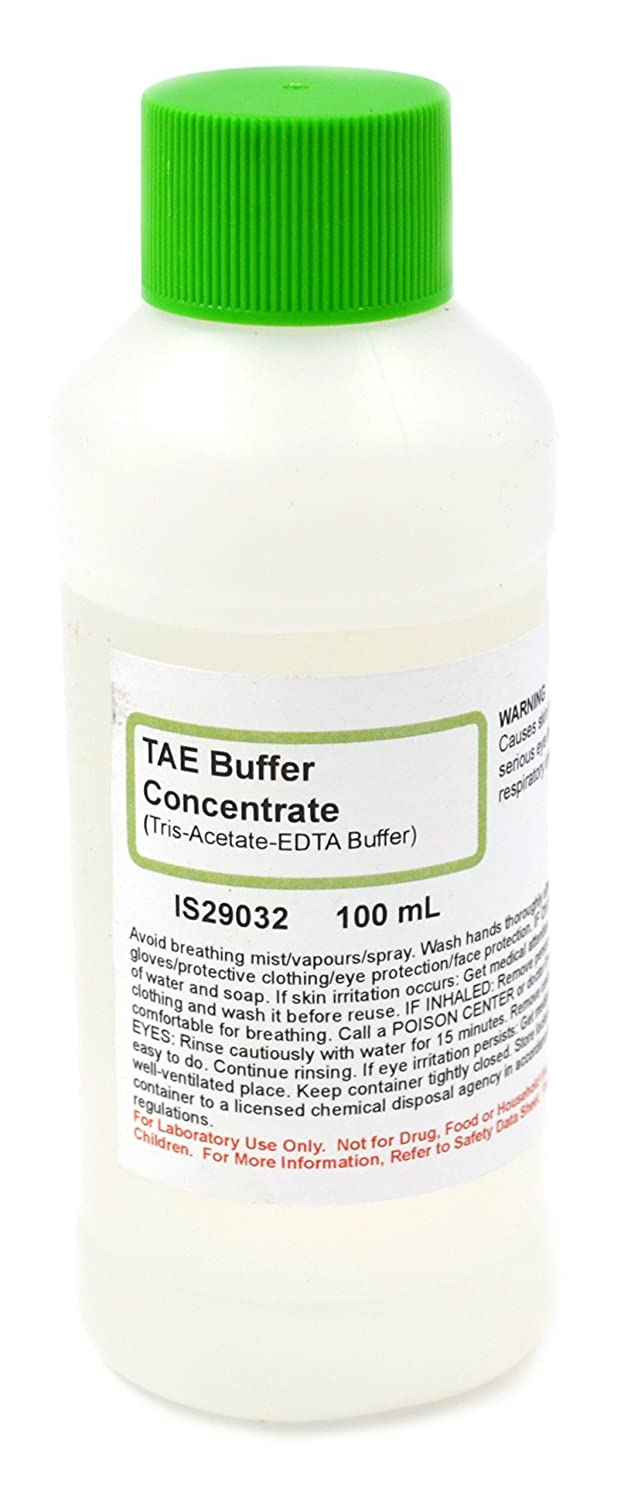 Tris-Acetate-EDTA Buffer Concentrate, 100mL - 50x Concentrate Solution - The Curated Chemical Collection