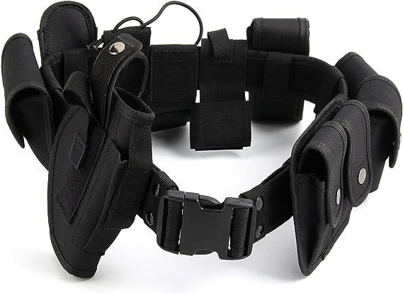 AllRight Police Guard Tactical Belt Security Belt System Utility Kit