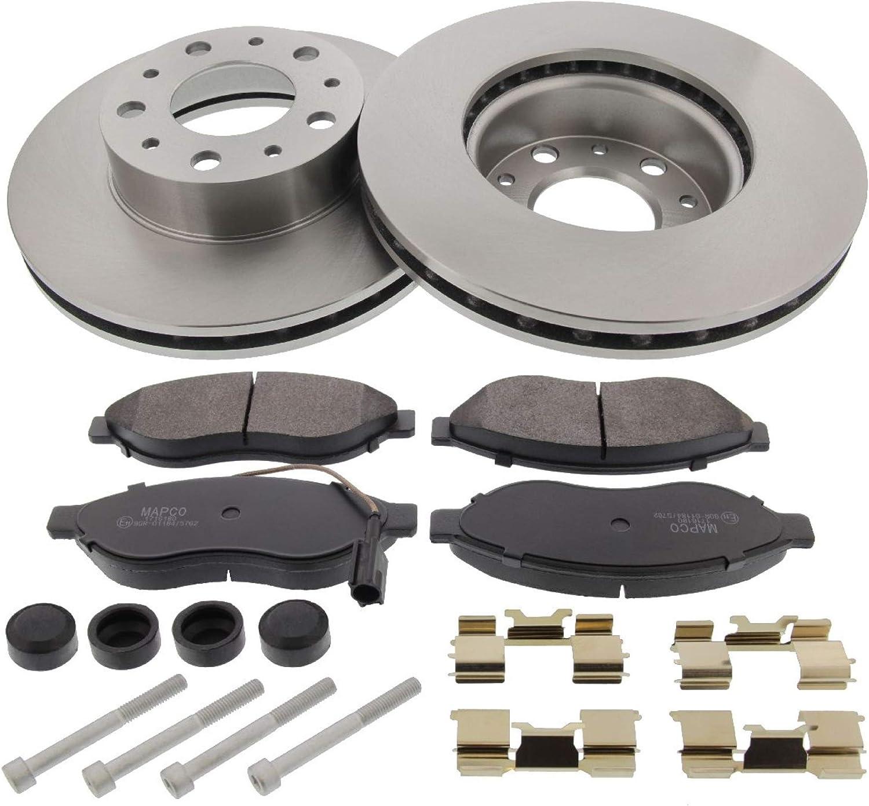 Mapco Brake Discs with Brake Pads 47332