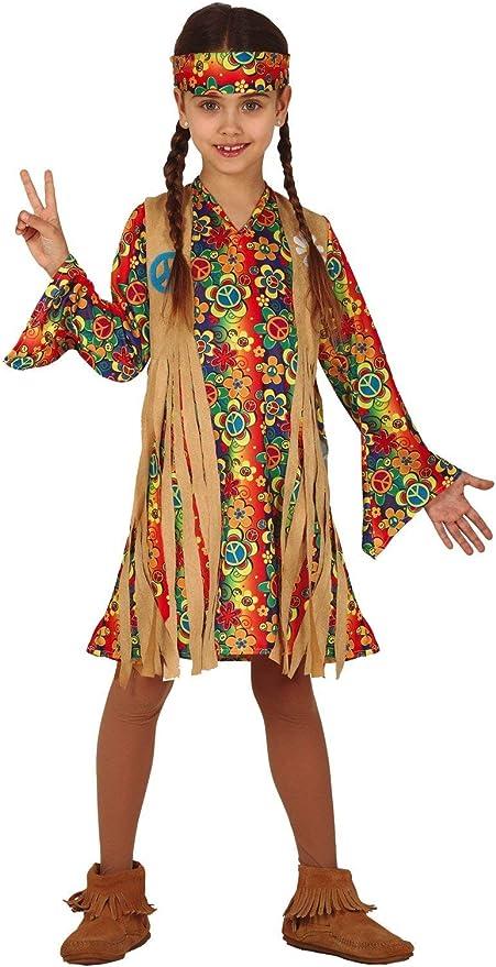 FIESTAS GUIRCA Disfraz de Hippy Hippie Hija de la niña de Las ...