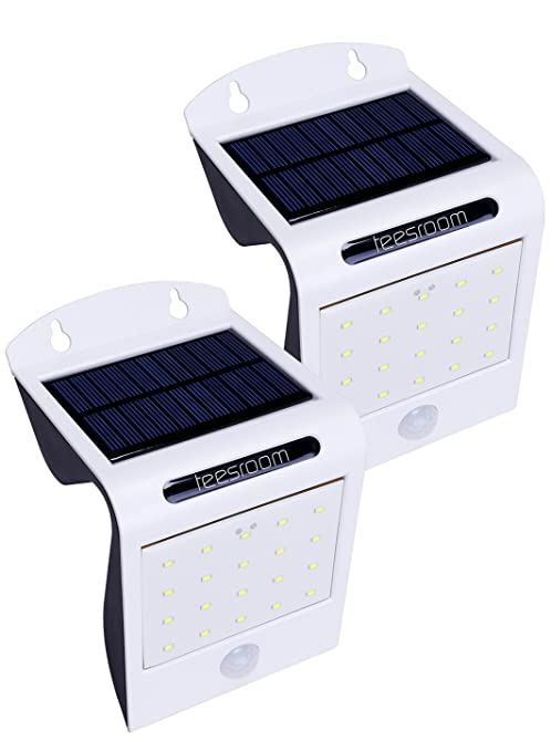 Amazon solar lights outdoor solar motion sensor light solar lights outdoor solar motion sensor light wireless super bright 20 led waterproof heatproof security wall aloadofball Image collections