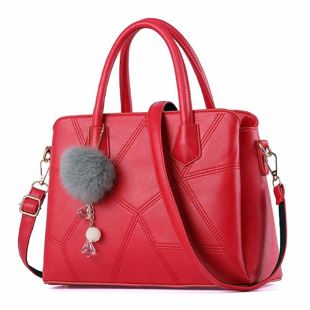 EU13 Damen Crossbody Umhängetasche Fashion Fashion Fashion Tote, Rot Frauen Umhängetaschen B07PR151PY Umhngetaschen Neuankömmling 56386d