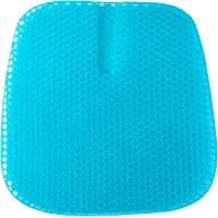 Gel Seat Cushion 2020 Latest Large Size Double Seat Cushion for Office Chair Car Wheelchair, Pressure Relief Back…