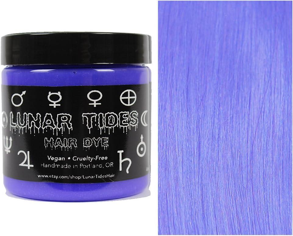 Periwinkle, tinte semi permanente para el cabello violeta - 118 ml - Lunar Tides