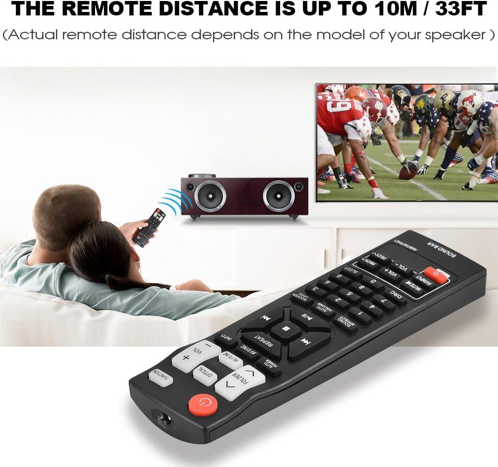 Ersatz Fernbedienung AKB73575421 für LG Soundbar Lautsprecher NB2420A NB4530B DE
