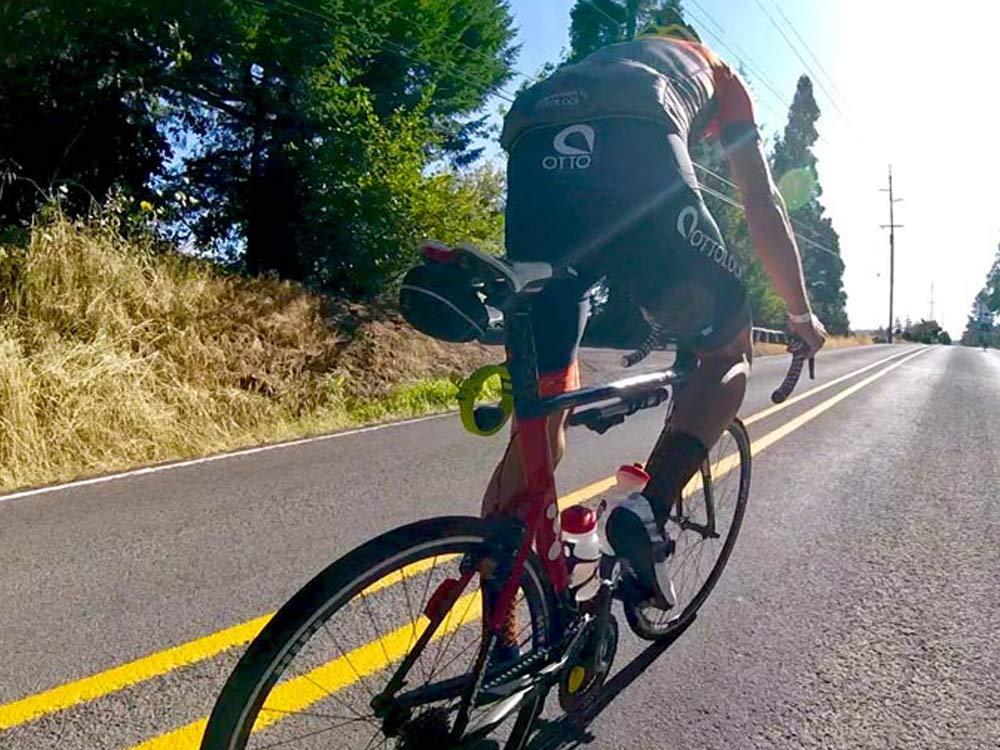 OTTOLOCK Cerradura para Bicicleta 46 72 Negro, Flash Verde, Naranja 152 cm