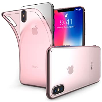coque iphone x plume
