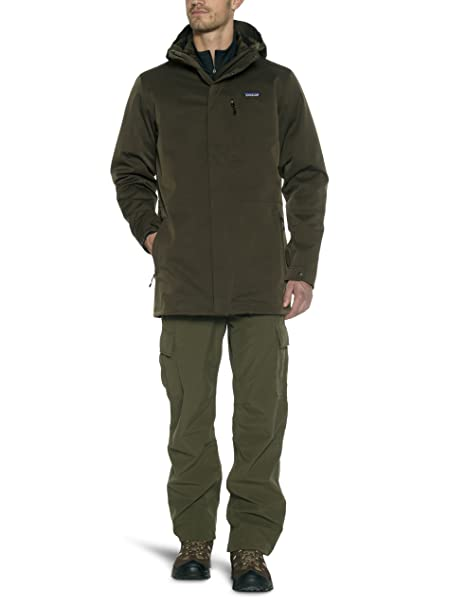 timeless design be27f 4054c Patagonia - Giacca Tres 3 in1 Parka, Uomo, Braun - Dark ...