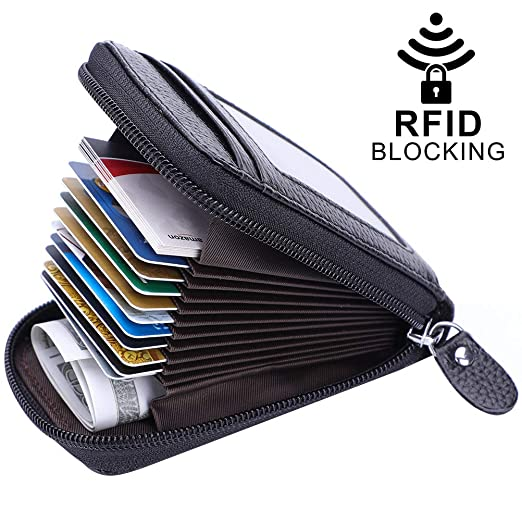 c456e07af18 RFID Blocking Leather Wallet for Women