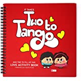 Indibni Indigifts Love Activity Book Two To Tango Puzzle Game Book Red With 32 Pages On The Inside