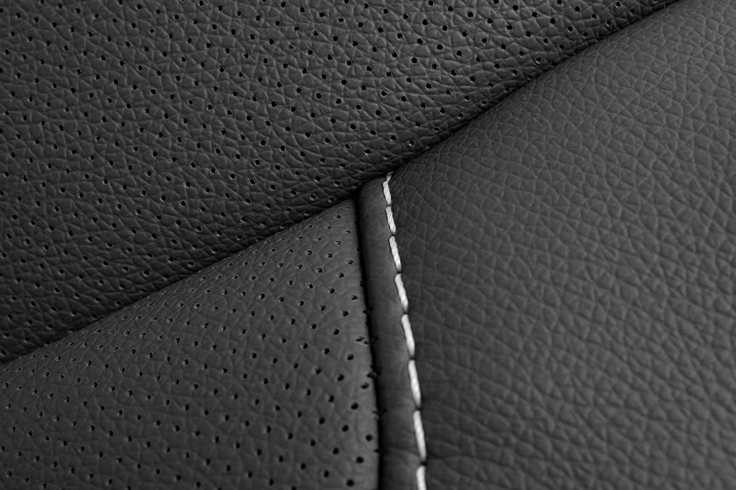 Jet Black Driver Side Bottom Replacement Seat Cover Perforated Richmond Auto Upholstery Compatible with 2015-2018 Chevy Silverado 1500, 2500, 3500 /& 2015-2018 GMC Sierra 1500, 2500, 3500