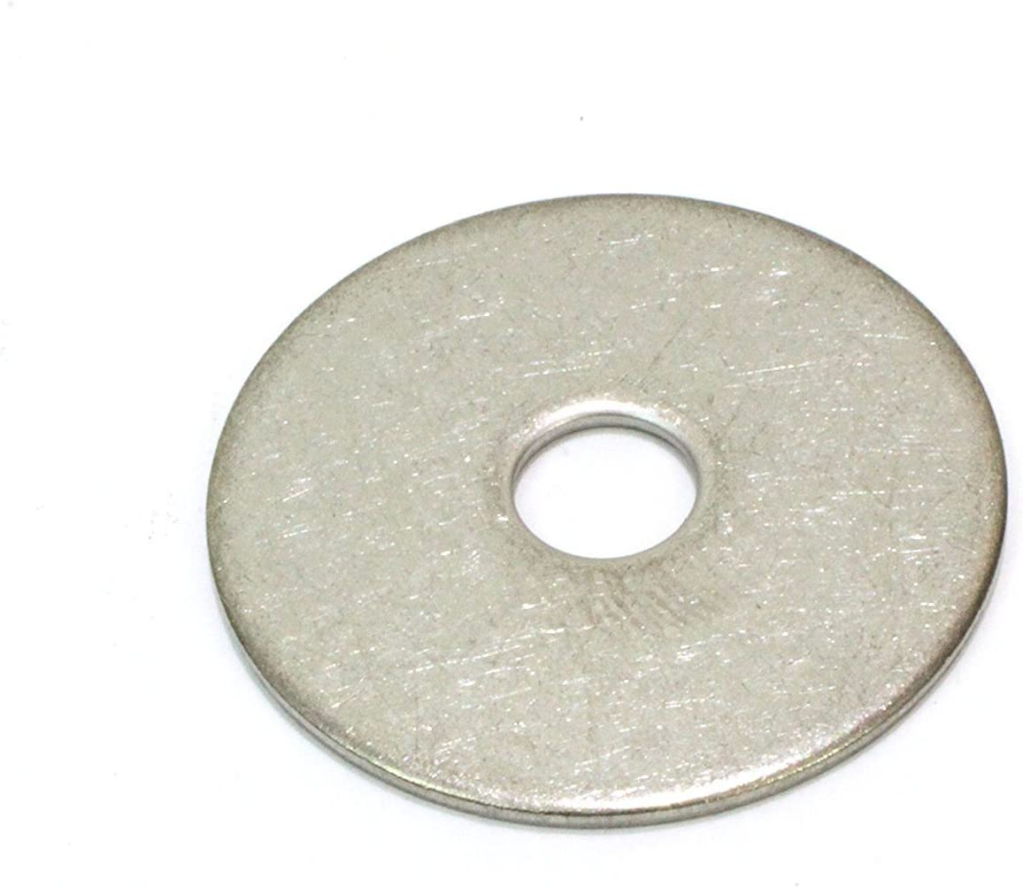 QTY:25 Zinc Fender Washer 5//16 X 1-1//4/""