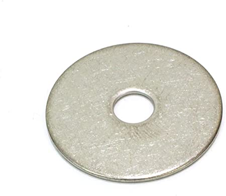 """Qty 100 Stainless Steel Fender Washer 1//4 x 2/"""""""
