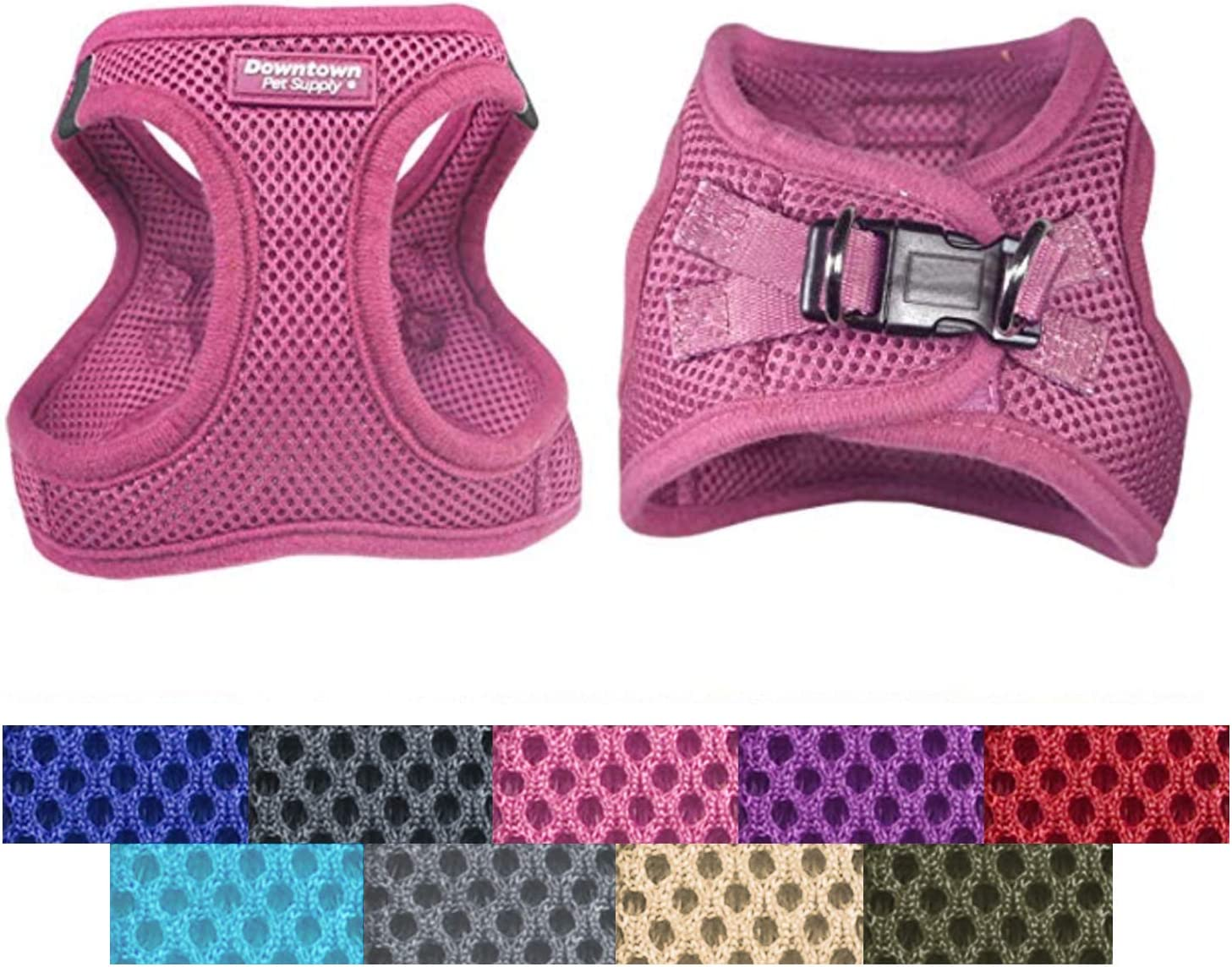 Easy to Put on Small Step in Adjustable Dog Harness Downtown Pet Supply No Pull Medium and Large Dogs