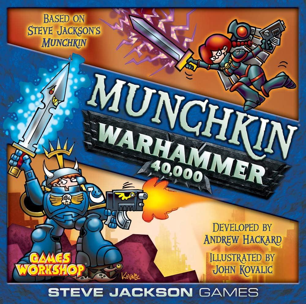 Amazon Com Steve Jackson Games Munchkin Warhammer 40000 Multi Colored Toys Games